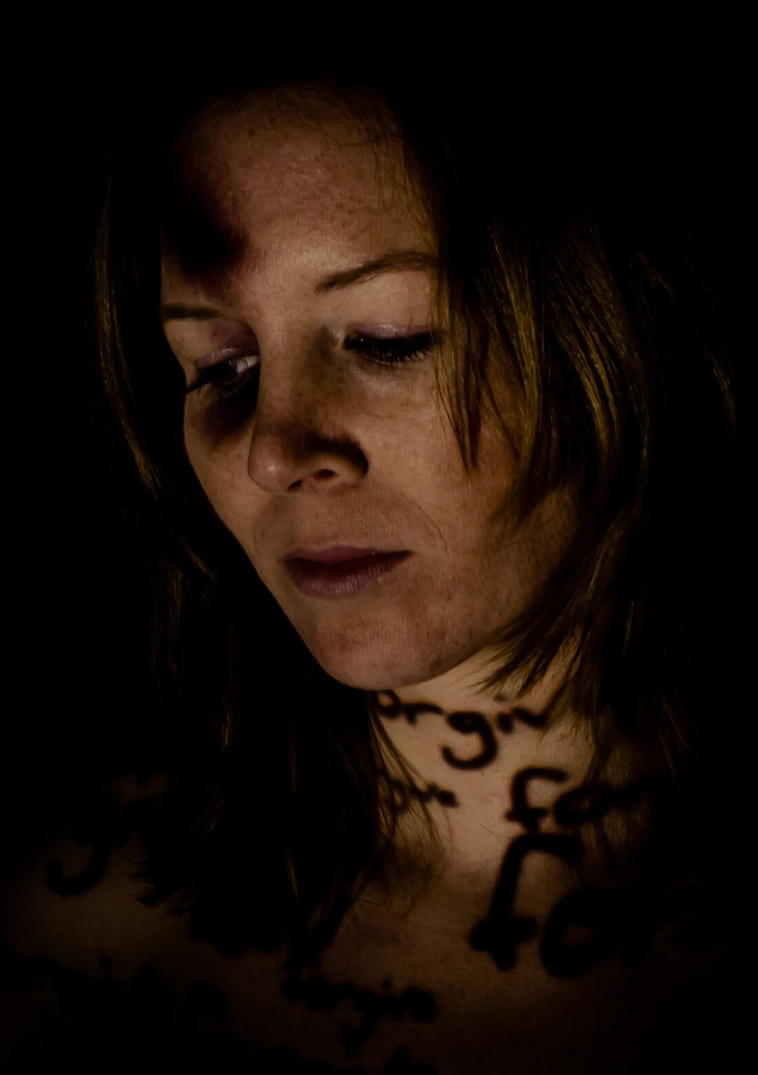 Fotoreportage battered women