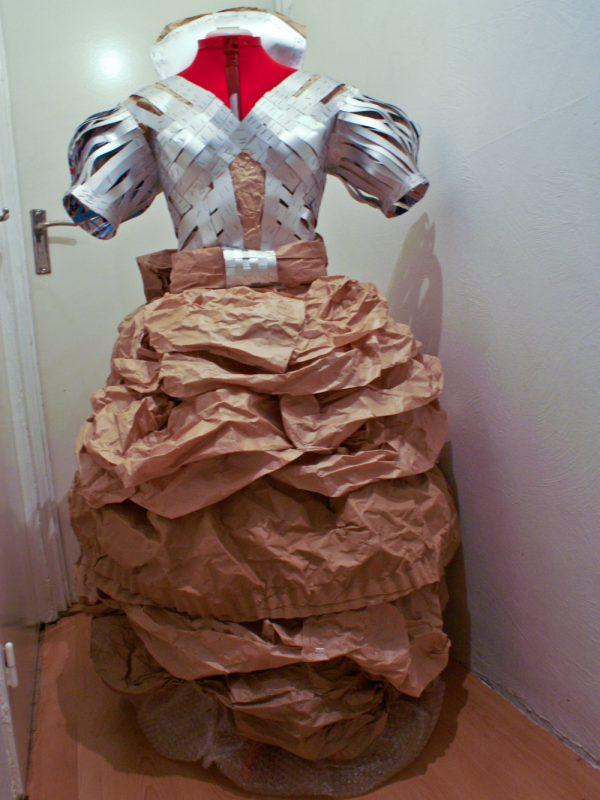 Voorkant jurk