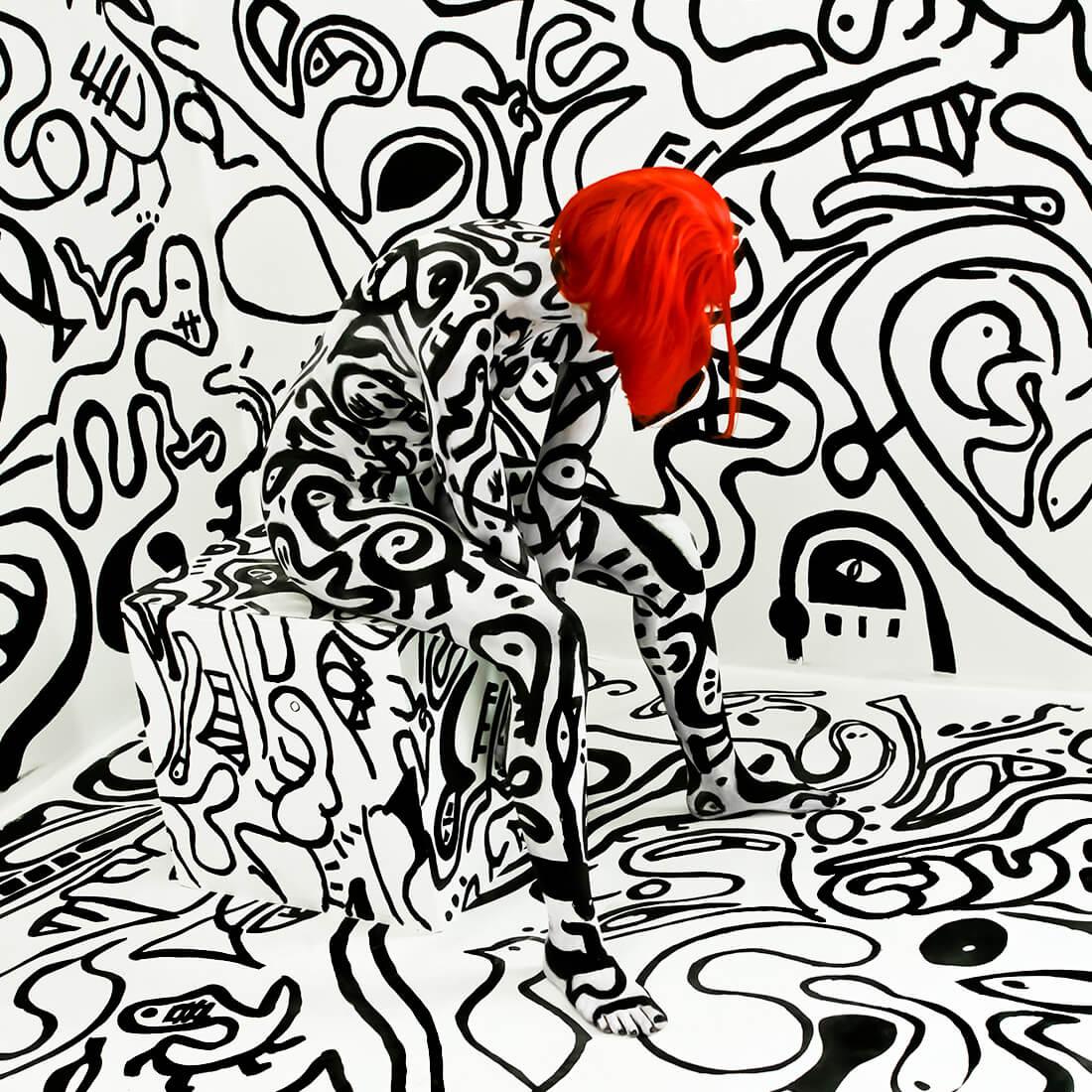 Fotoreportage Black N White Mukie Art