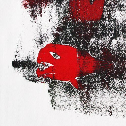 Monotype fishy art