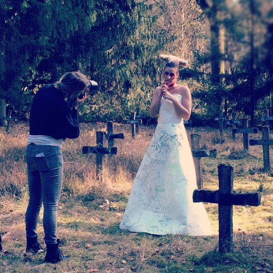 Behind the scenes at the graveyard