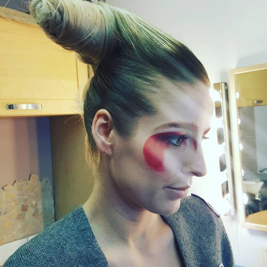 Judith in de make-up door Visagie Maastricht by Edith Remmen