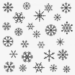 raamtekening sneeuwvlok sneeuw op raam tekenen