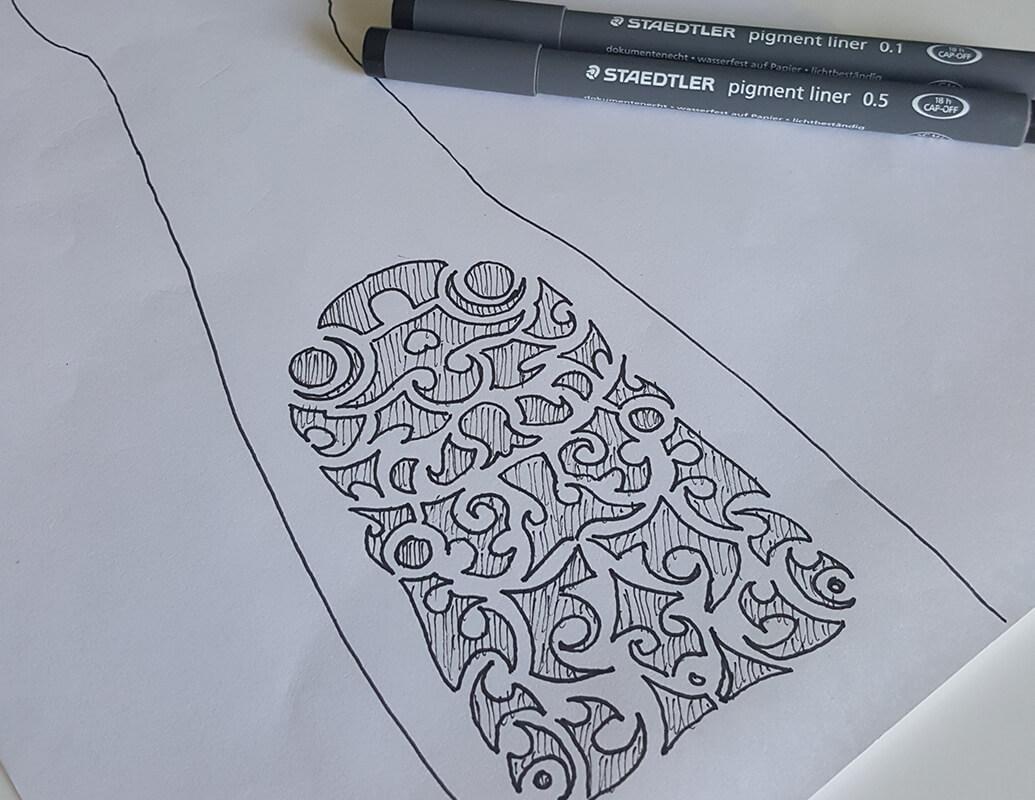 Maori tattoo ontwerp laten maken