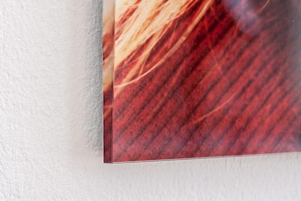 Mixed media print op acrylglas